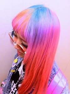 17 Best images about Multicolored Hair on Pinterest