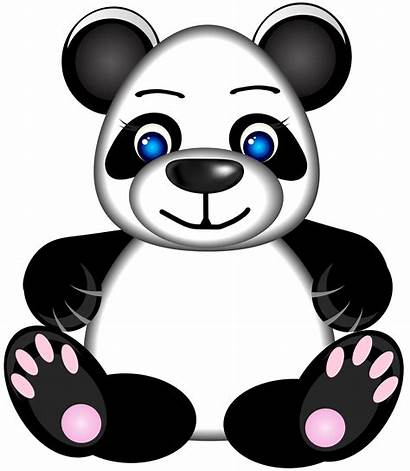 Panda Clipart Clip Bear Cartoon Roblox Cartoons