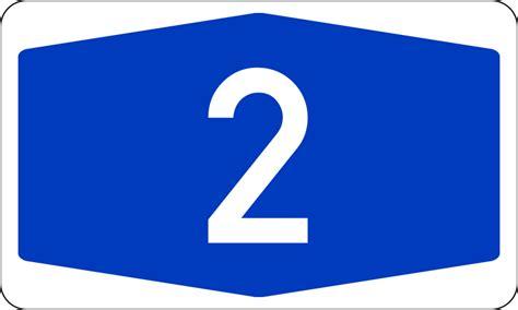 Dateibundesautobahn 2 Numbersvg Wikipedia
