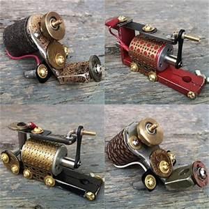 Love these homemade rotary machines | tattoo | Pinterest ...