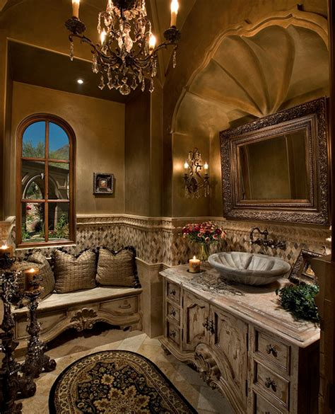 luxury powder room designs