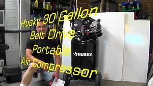 Husky C302h 30 Gal Ultra Quiet Air Compressor Review