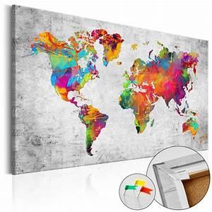 Pinnwand Weltkarte Kork : colours of modernity cork map weltkarten world maps pinterest weltkarte pinnwand ~ Markanthonyermac.com Haus und Dekorationen