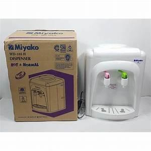 Miyako Dispenser Galon Panas  U0026normal Wd185h