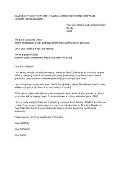 immigration reference letter samples   word