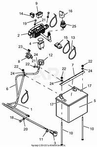 Gravely 994112  030000 -   Pro-stance 52 Parts Diagram For Wiring