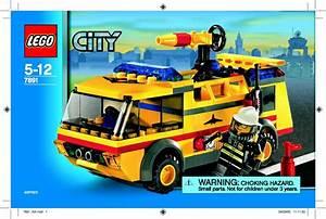 Lego 7891 Airport Firetruck Guide D U0026 39 Installation