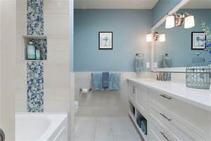 15 blue and white bathroom designs ideas design trends With kitchen cabinet trends 2018 combined with thin blue line wall art