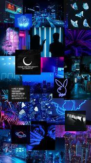 neon blue aesthetic iphone wallpaper in 2020   Wallpaper ...