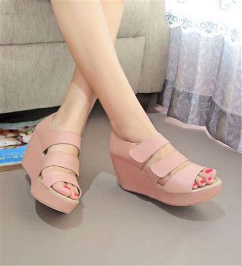 12yy Wedges Boots Sepatu Wanita jual sandal wedges wanita sepatu wedges cewek sdw55 aa