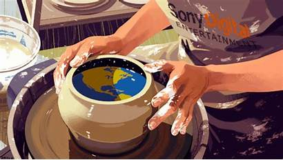 Gifs Rebecca Mock Illustration Animation Creativity Pottery