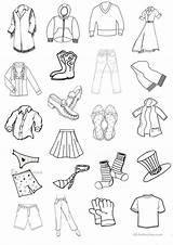 Clothes Flashcards Clothesline Worksheet Worksheets Printable Printables Esl Activities Coloring Template Beginner Sheets Screen sketch template