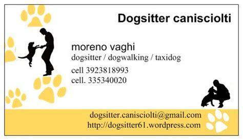 Info/ chi sono dogsitter cani sciolti