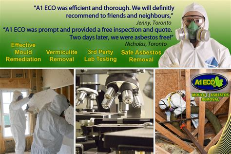eco mould asbestos removal images  markham ontario