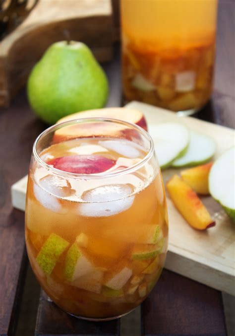 Fruit & Cinnamon Sangria For Fall  Horses & Heels