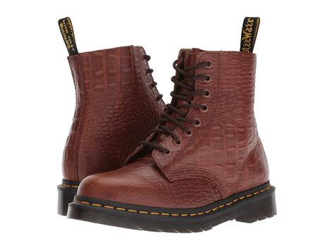 Dr. Martens Pascal Croc 8-eye Boot At Zappos.com
