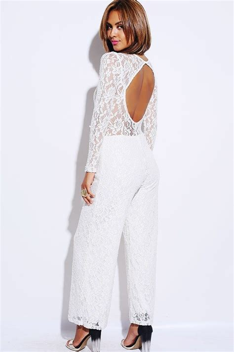 white sleeve jumpsuit 1015store com fashion style limited edition beige