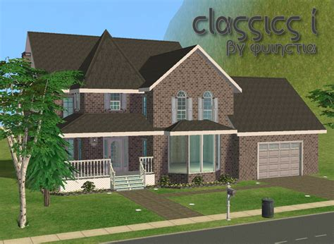 simple sims houses ideas mod the sims classics 1 furnished unfurnished