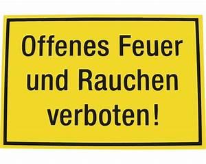 Offenes Feuer Im Wohngebiet : verbotsschild offenes feuer rauchen verboten 200x300 mm bei hornbach kaufen ~ Whattoseeinmadrid.com Haus und Dekorationen