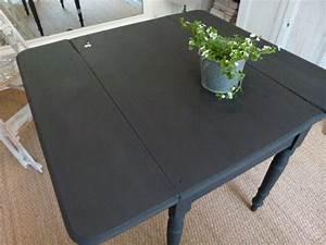 peinture noir pour bois peinture noir bois sur With peinture pour table en bois