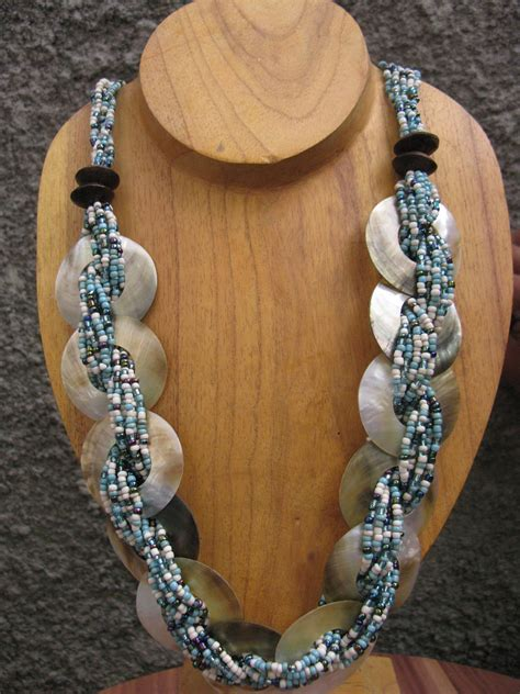 beading images beading necklaces  mop seashell bead