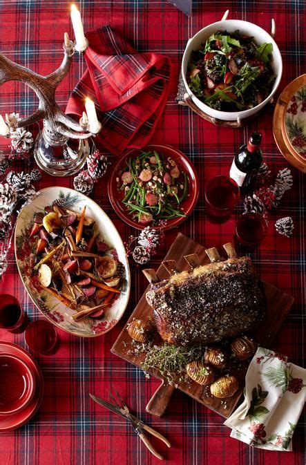 Entertaining New Years Dinner by Dinner Menu On Our Tartan Table The