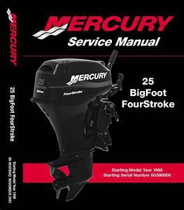 Mercury Mariner 25hp Bigfoot Service Manual