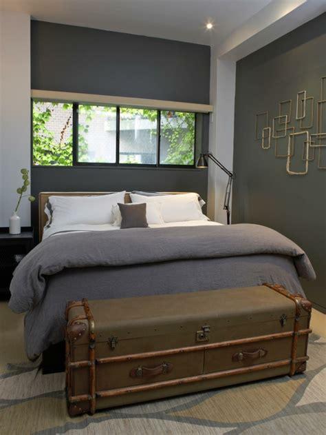 banc coffre chambre adulte 40 idées pour le bout de lit coffre en images