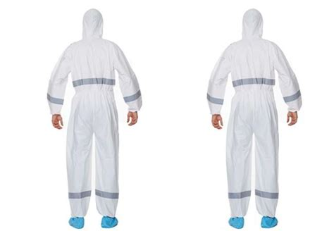 reflective asbestos removal disposable paint suit