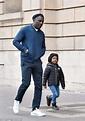 Idris Elba holds hands with son Winston exploring Paris ...