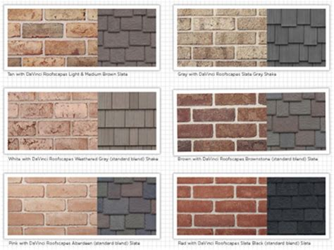 house color schemes exterior brick white brick houses exterior brick siding brick and siding