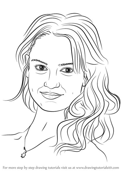 learn   draw lily james celebrities step  step