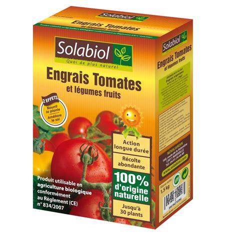 engrais bio tomates 1 5 kg solabiol plantes et jardins