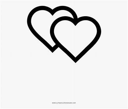 Colorear Hearts Coloring Para Heart Clipartkey