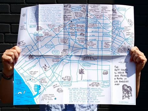 best reading l a new york artist mapped the best places to read a book in