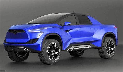 tesla pickup design elon musks titanium truck