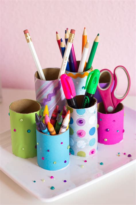 diy pencil holder for desk boost your efficiency at work with these diy desk organizers