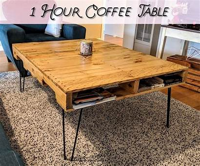 Pallet Coffee Instructables Hour Wood Tables Pallets