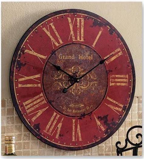 Country Living Room Clocks by Best 25 Big Clocks Ideas On Wall Clock