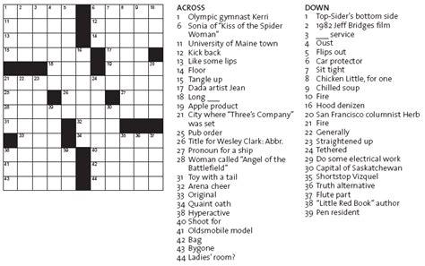 Printable Crossword Puzzles (13)