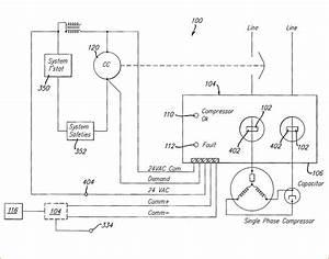 Air Pressor Wiring Diagram Schematic
