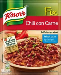 Chili Con Carne Steffen Henssler : knorr fix for chili con carne ~ Pilothousefishingboats.com Haus und Dekorationen
