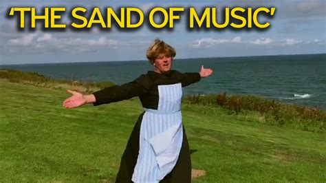 Dad In Drag Makes Sound Of Music Parody Video