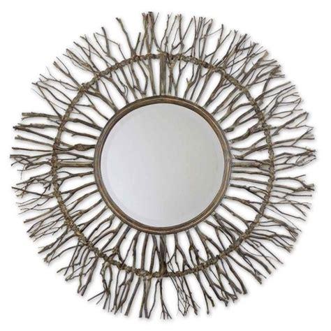 Uttermost Sunburst Mirror by Uttermost Josiah Woven Birch Branches Sunburst Mirror 13705