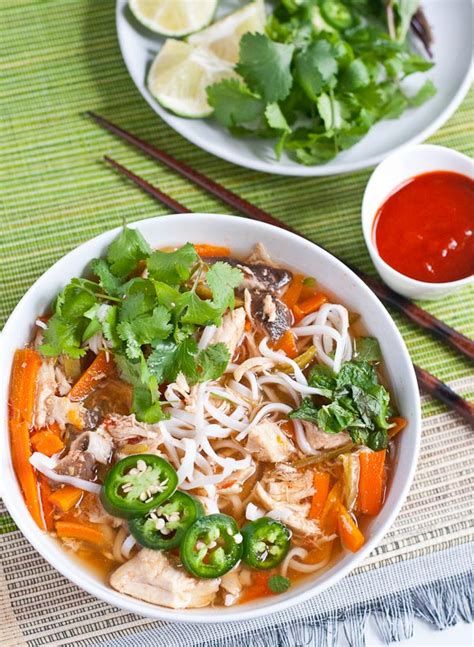 asian inspired slow cooker chicken noodle soup recipe relish