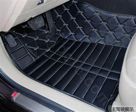 custom car floor mats buy wholesale pu leather q003 custom automobile carpet car
