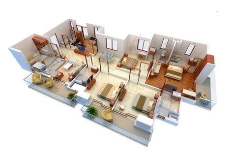 4 Bedroom Apartment House Floor Plans by 4 Bedroom Apartment House Plans