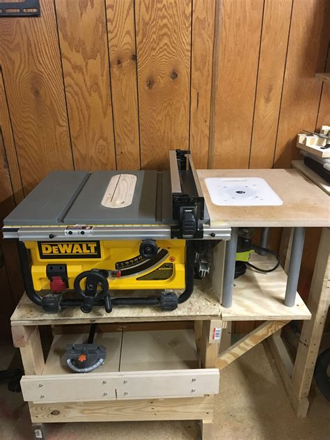 dewalt table  router combo diy router table jet