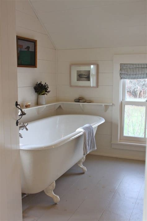 cottages in bath with tub a cottage reborn in coastal maine clawfoot tubs cottage