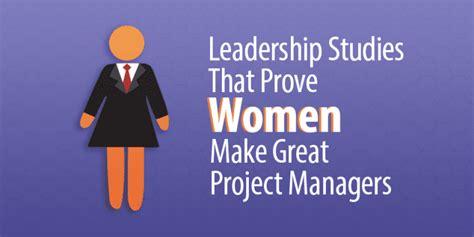 leadership studies  prove women  great project